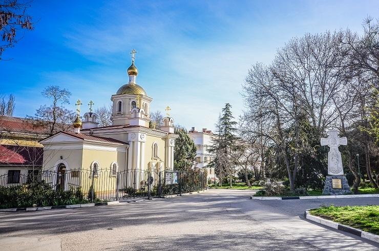 Храм святителя Луки . г.Севастополь